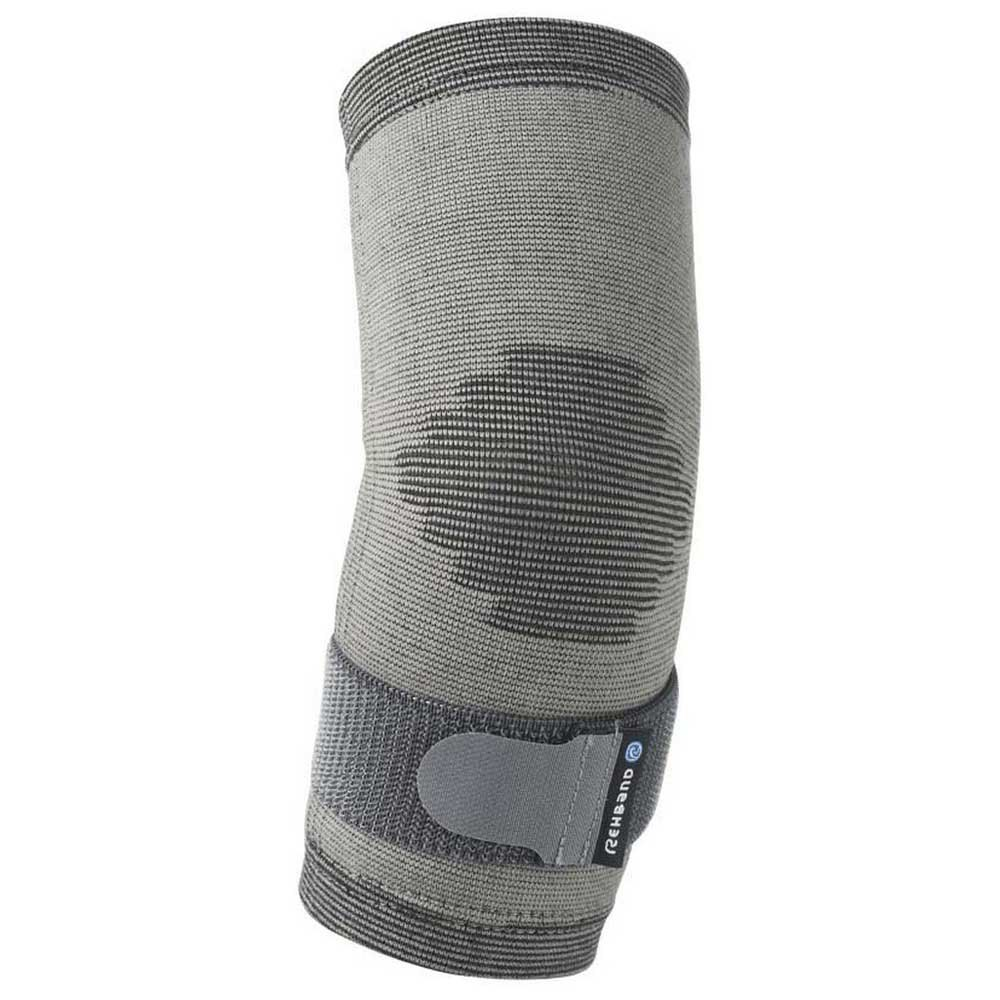 Protecteurs articulations Rehband Qd Knitted Elbow Sleeve S-M Grey