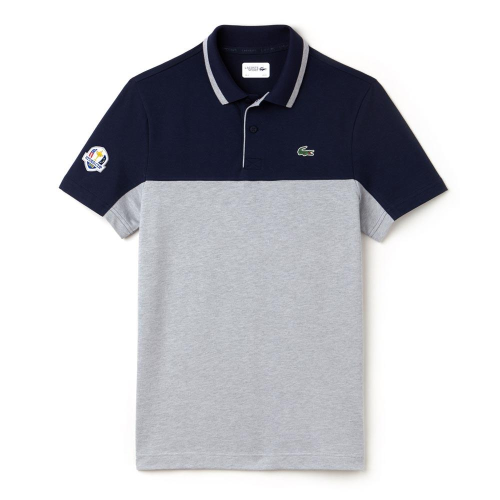 fb80fcc20 Lacoste DH6360 Polo S S Blue buy and offers on Smashinn