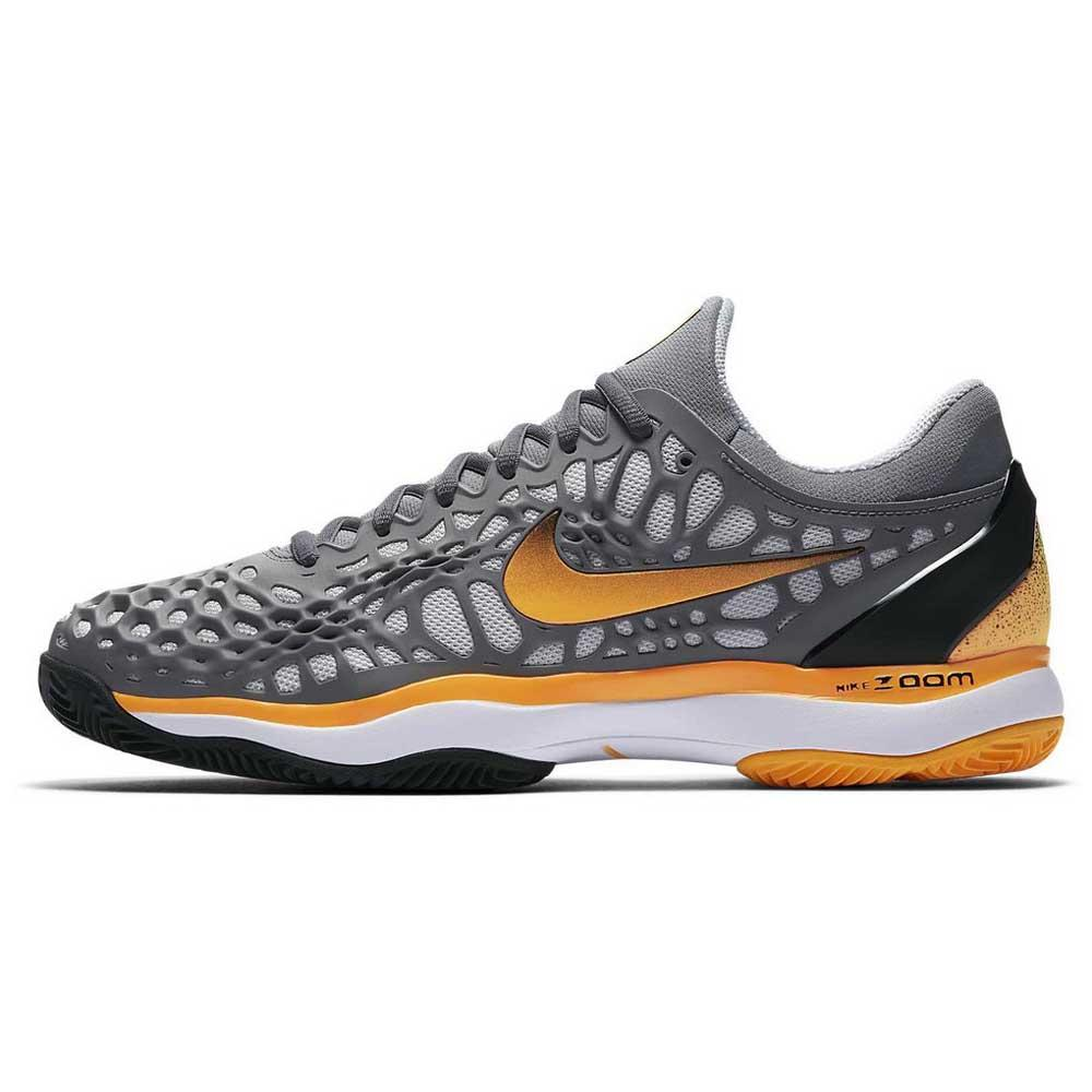 6514a47a9c5 Nike Air Zoom Cage 3 Clay Cool Grey   Laser Orange   Black   White ...