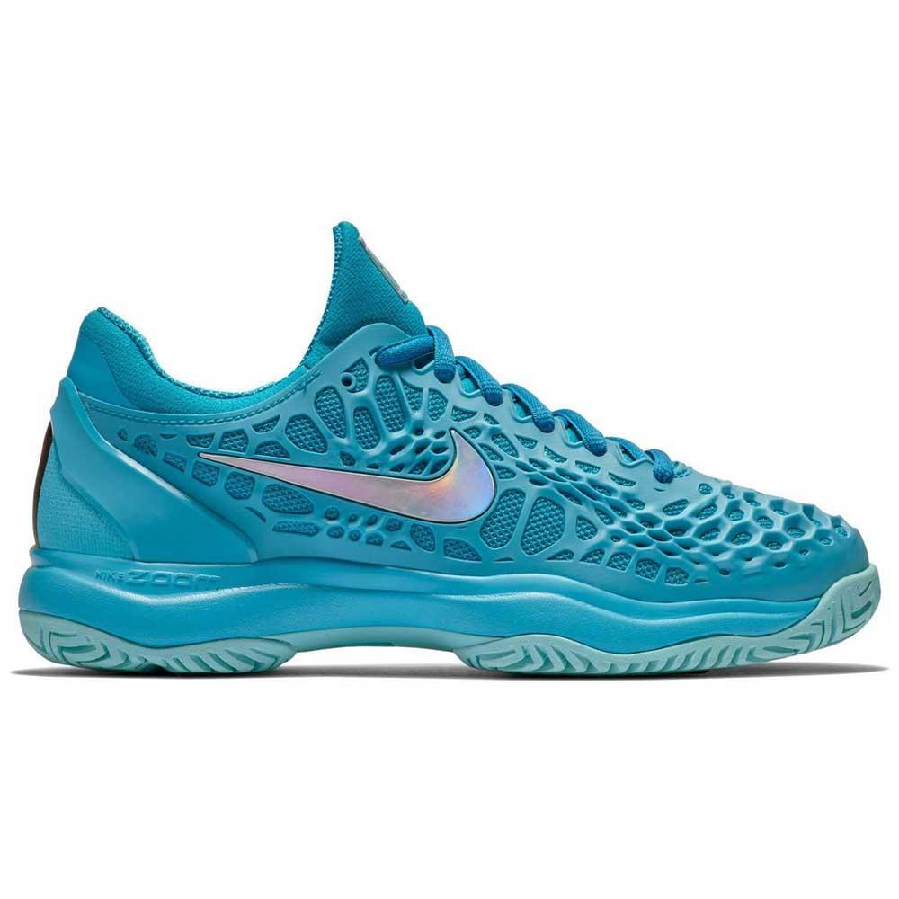 Nike Air Zoom Cage 3 Hard Court Shoes Blue, Smashinn