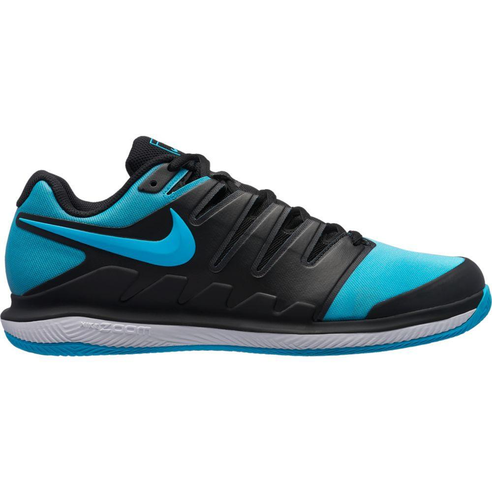 Nike Court Air Zoom Vapor X Clay EU 47 Black / Gamma Blue / White