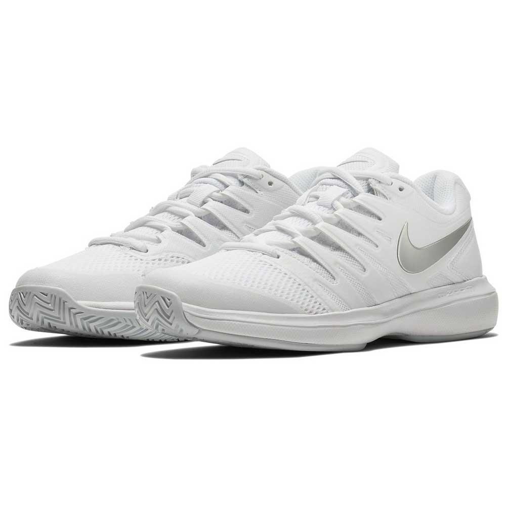 Nike Air Zoom Prestige Hard Court Shoes Silver, Smashinn