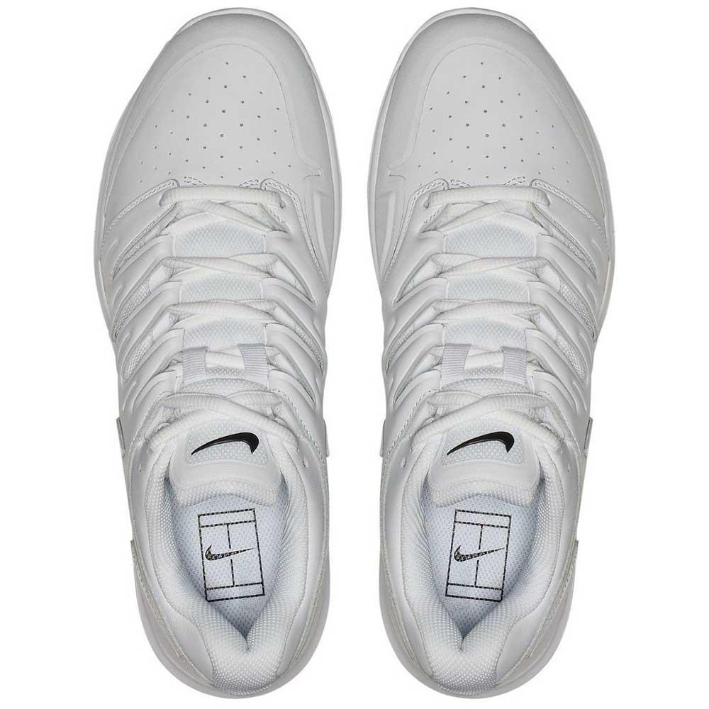 Nike Air Zoom Prestige Leather Hard Court Shoes White, Smashinn
