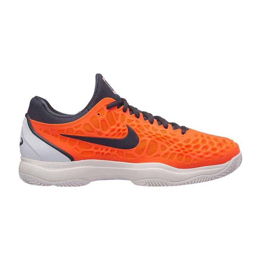 Nike Zoom Cage 2 Zapatilla Todas Las Superficies Hombres Naranja, Blanco