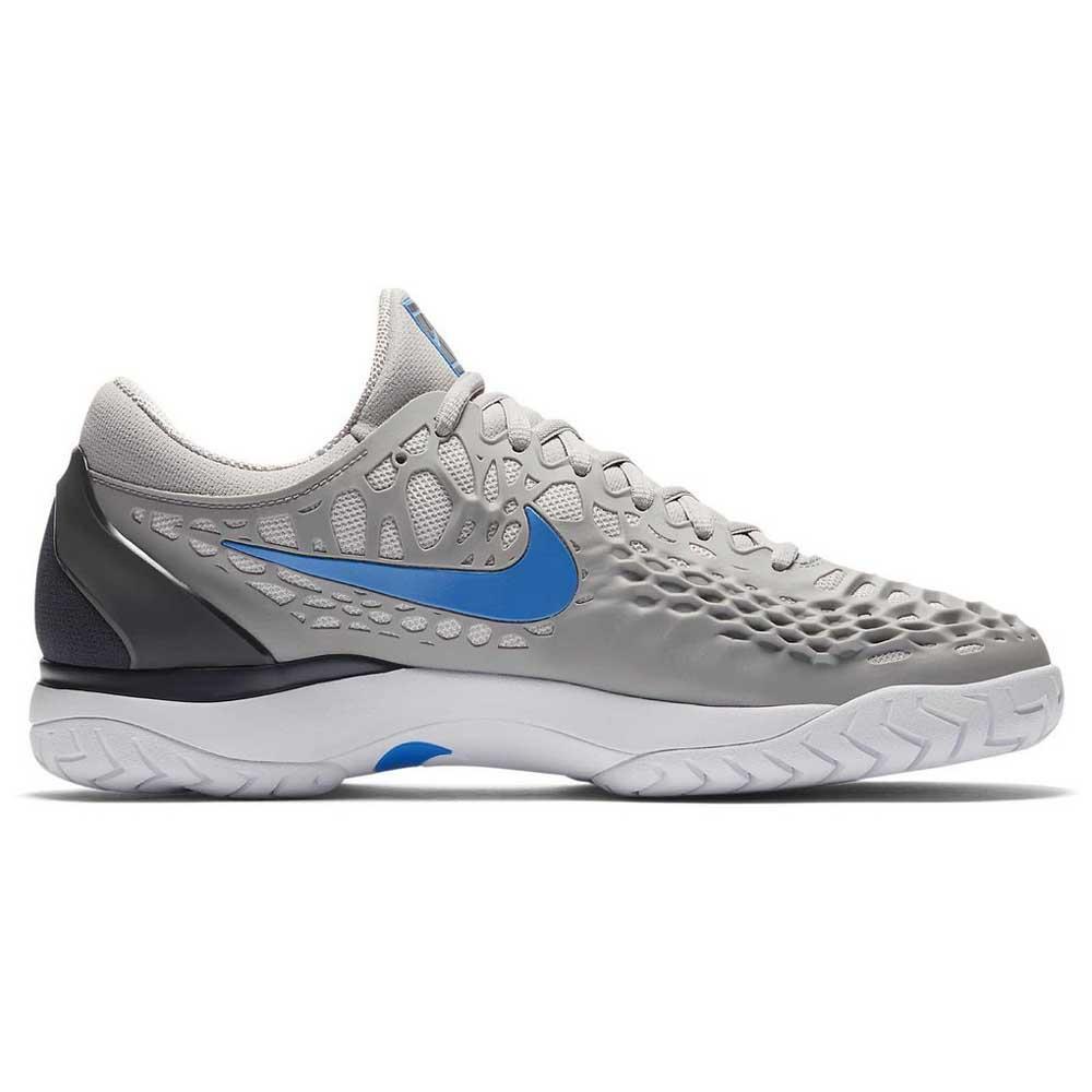 Nike Court Air Zoom Cage 3 HC Harmaa, Smashinn Lenkkikengät