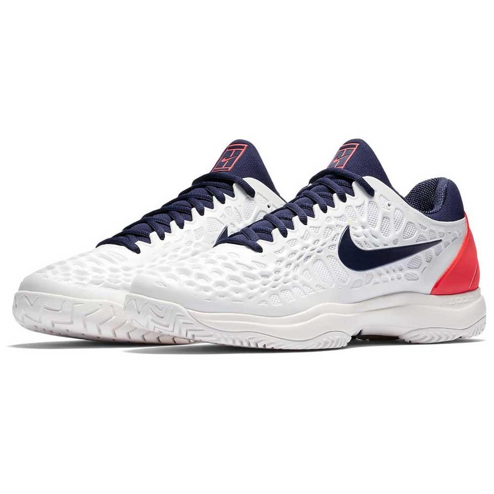 30ed002e2465 Nike Court Air Zoom Cage 3 HC White buy and offers on Smashinn