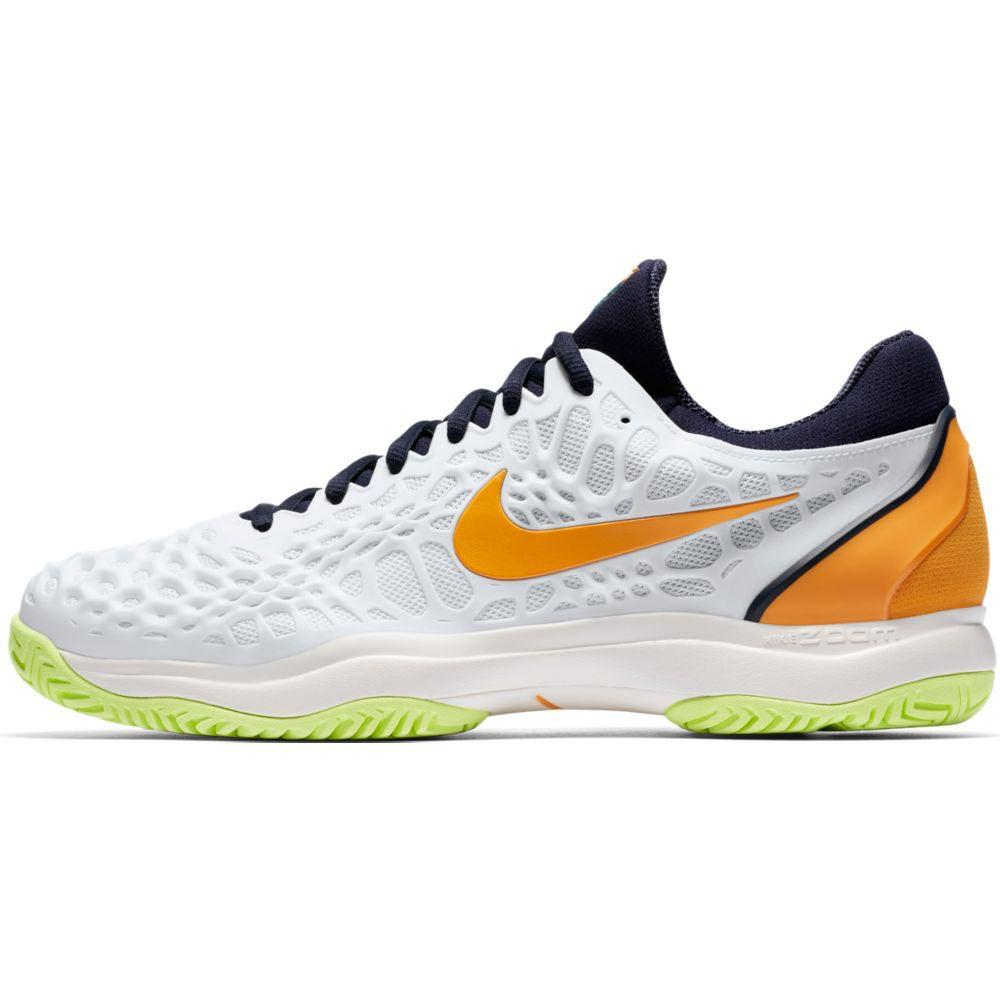 e0a76afe726 Nike Court Air Zoom Cage 3 HC White buy and offers on Smashinn