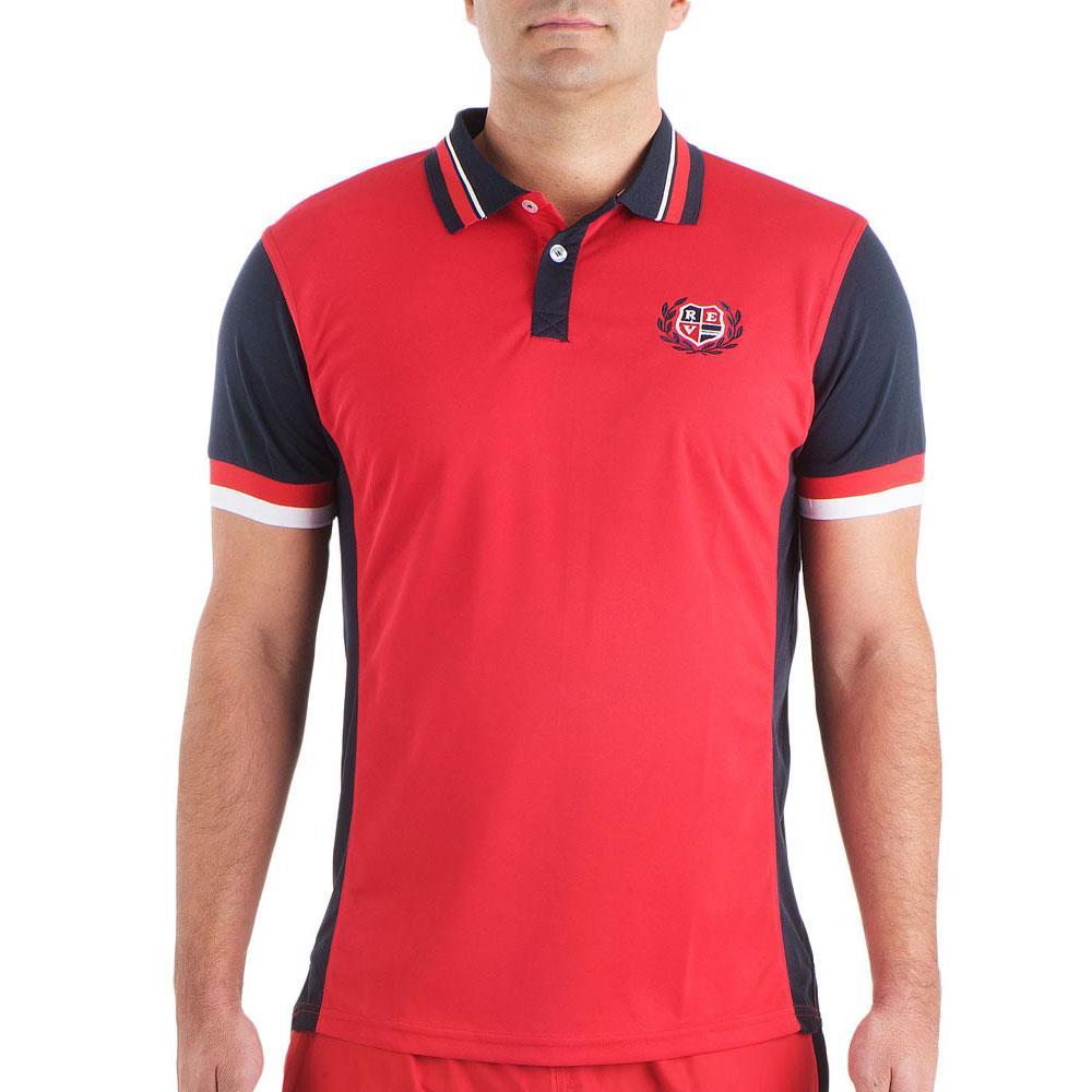 Padel revolution Polo Shirt Red buy and offers on Smashinn 8ea0e44252a62