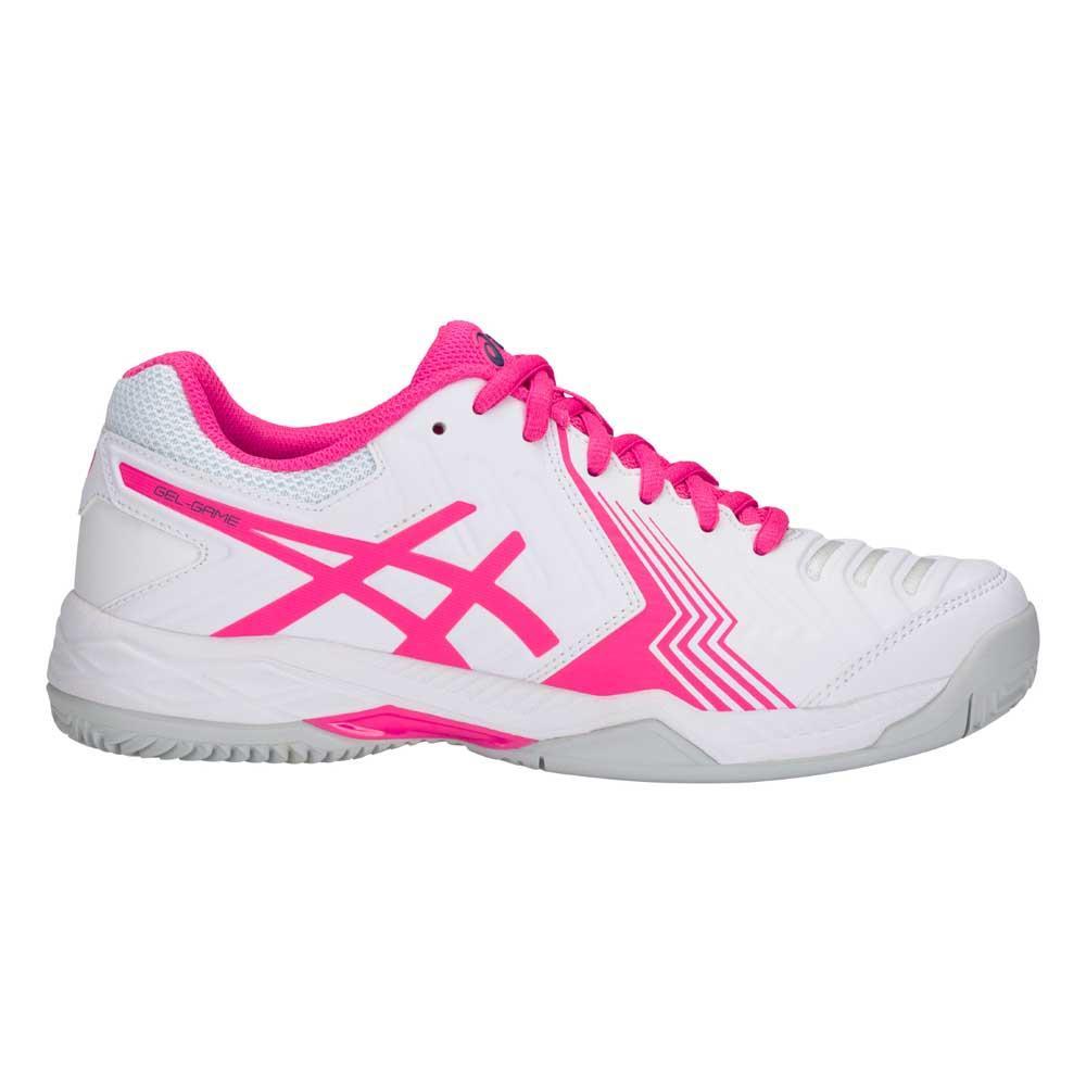 Zapatillas pádel Asics Gel Game 6 Clay EU 42 White Pink Glo