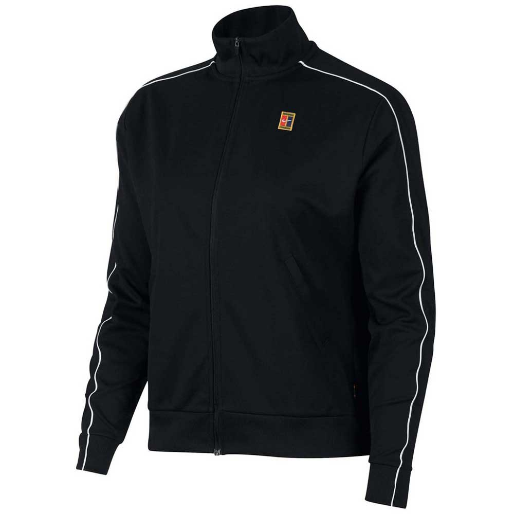 Vestes Nike Court Warm Up L Black / Black / White