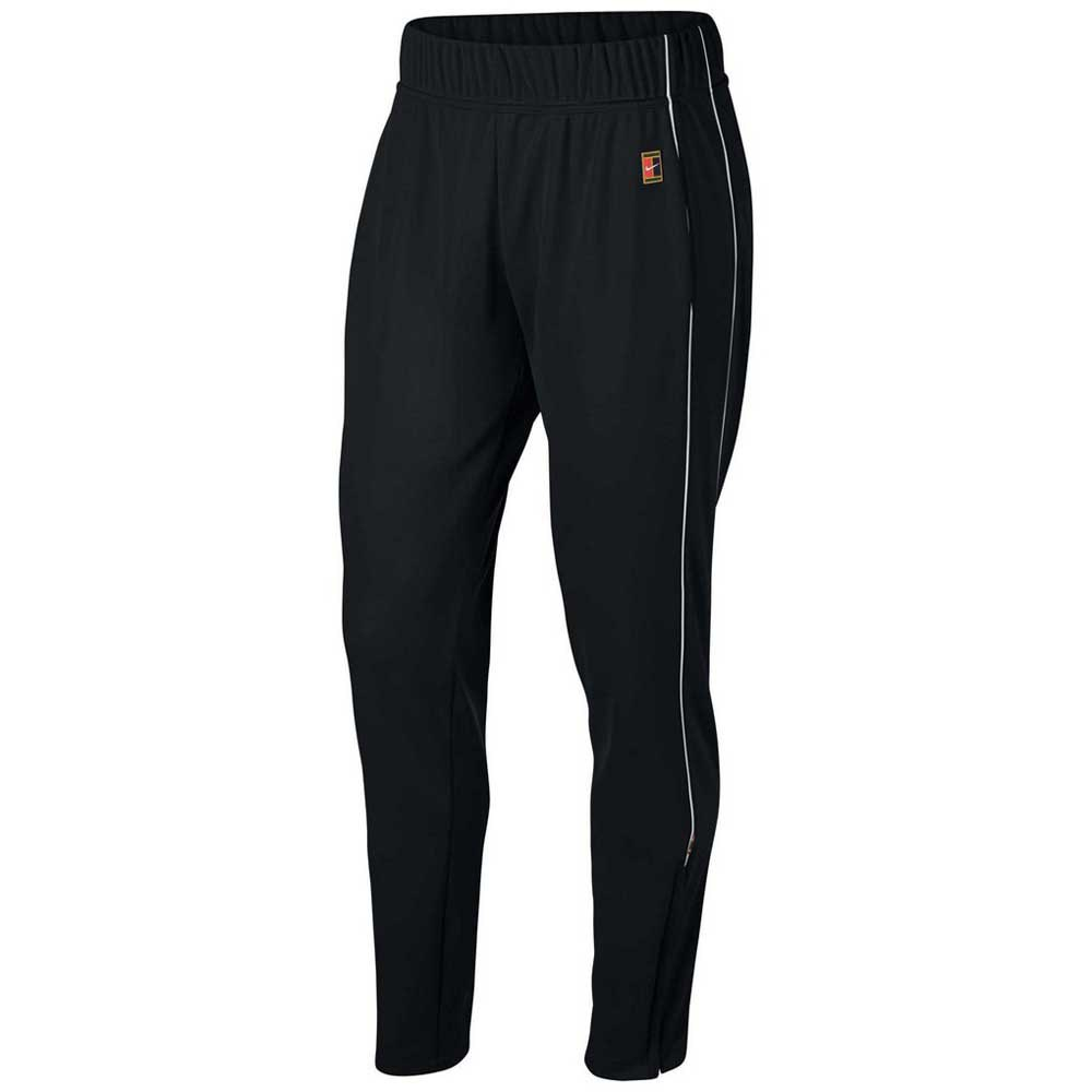 Pantalons Nike Court Warm Up L Black / Black / White
