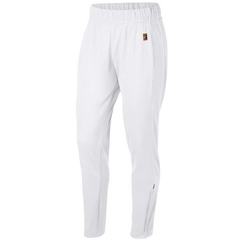 Pantalons Nike Court Warm Up L White / White / White