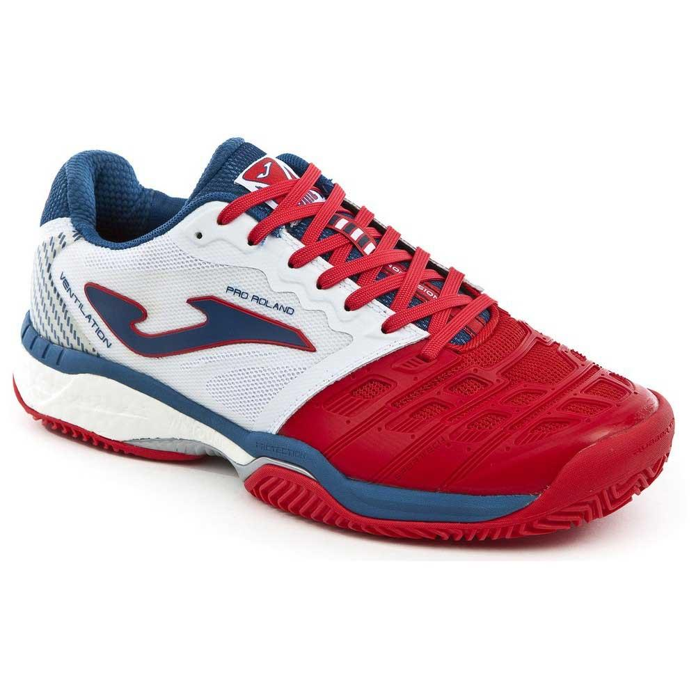 Baskets tenis Joma Pro Roland All Court EU 46 Red / White