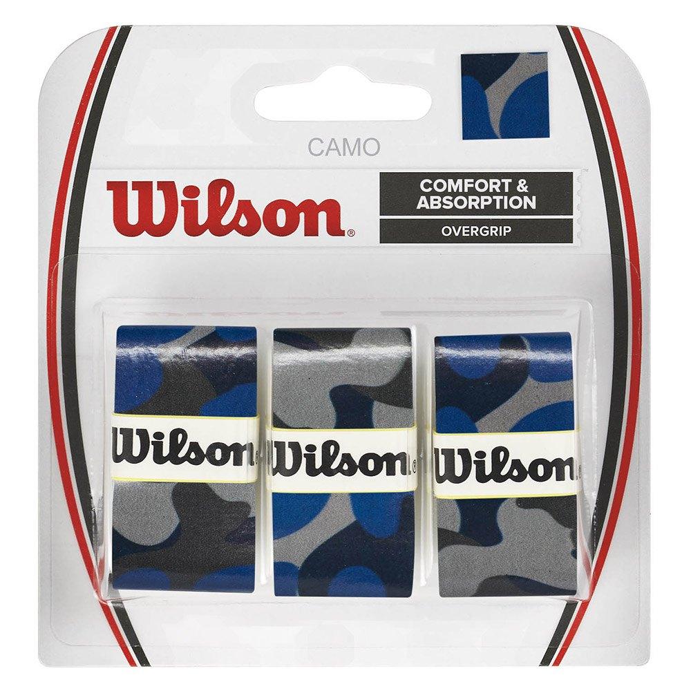 Sur-grips Wilson Camo 3 Units One Size Blue