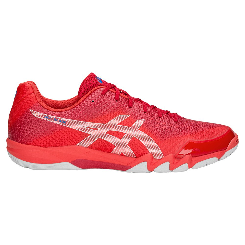 Asics Gel Blade 6 Hard Court Shoes Red buy and offers on Smashinn