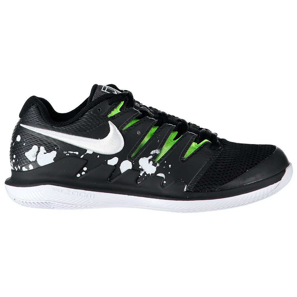 Nike Court Air Zoom Vapor X Hard Court Premium EU 40 1/2 Black / White / Volt Glow