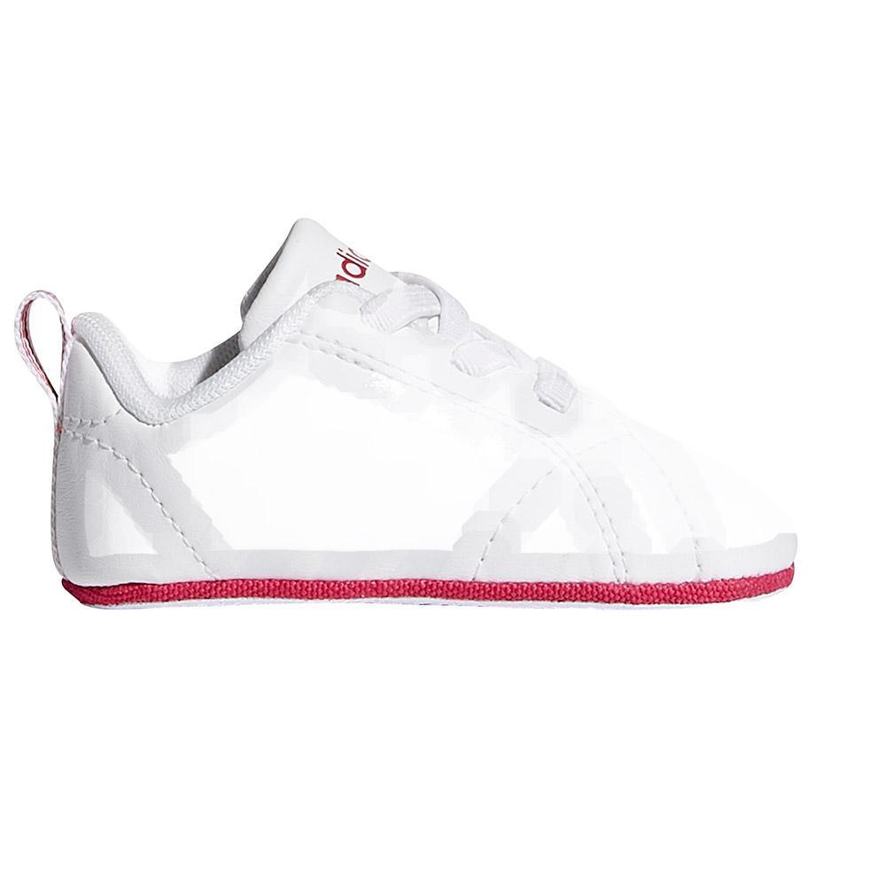 7e3da4bbb6a8 adidas VS Advantage Crib White buy and offers on Smashinn