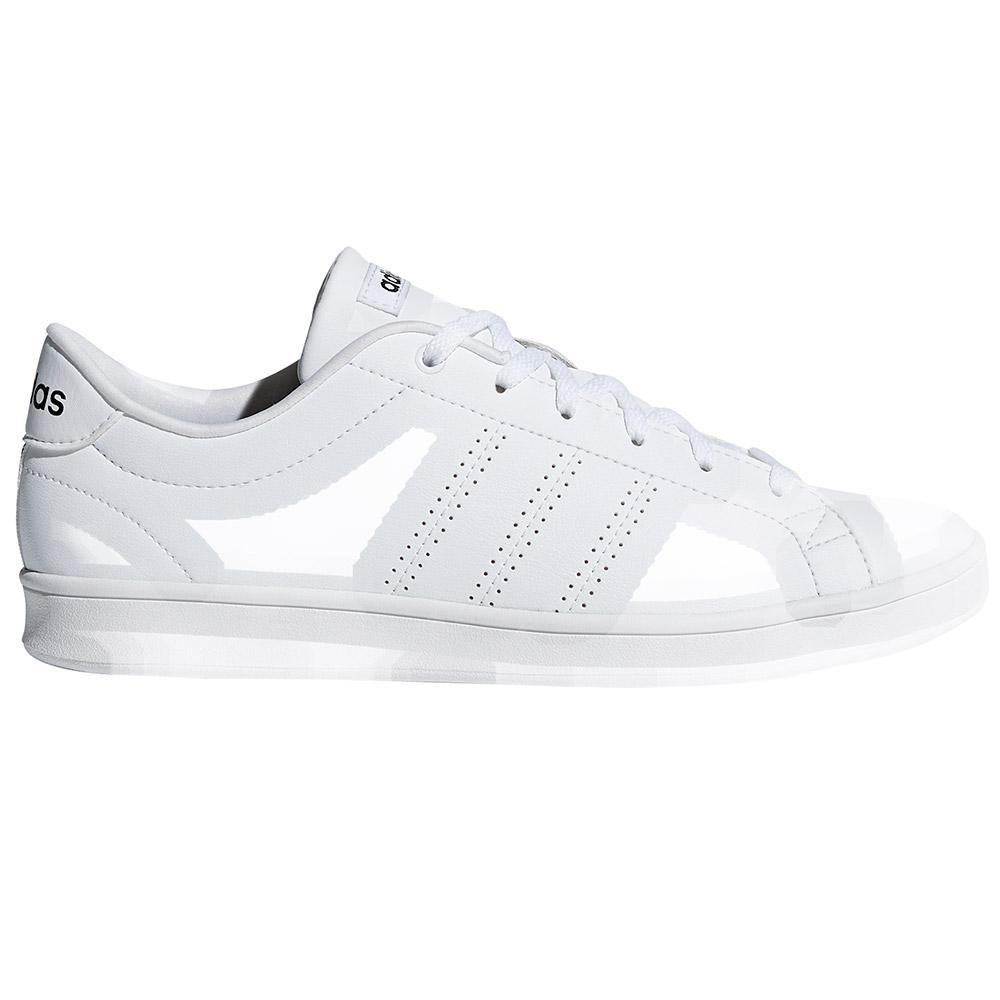 adidas Advantage Clean QT Bianco comprare e offerta su Smashinn d43727117e2