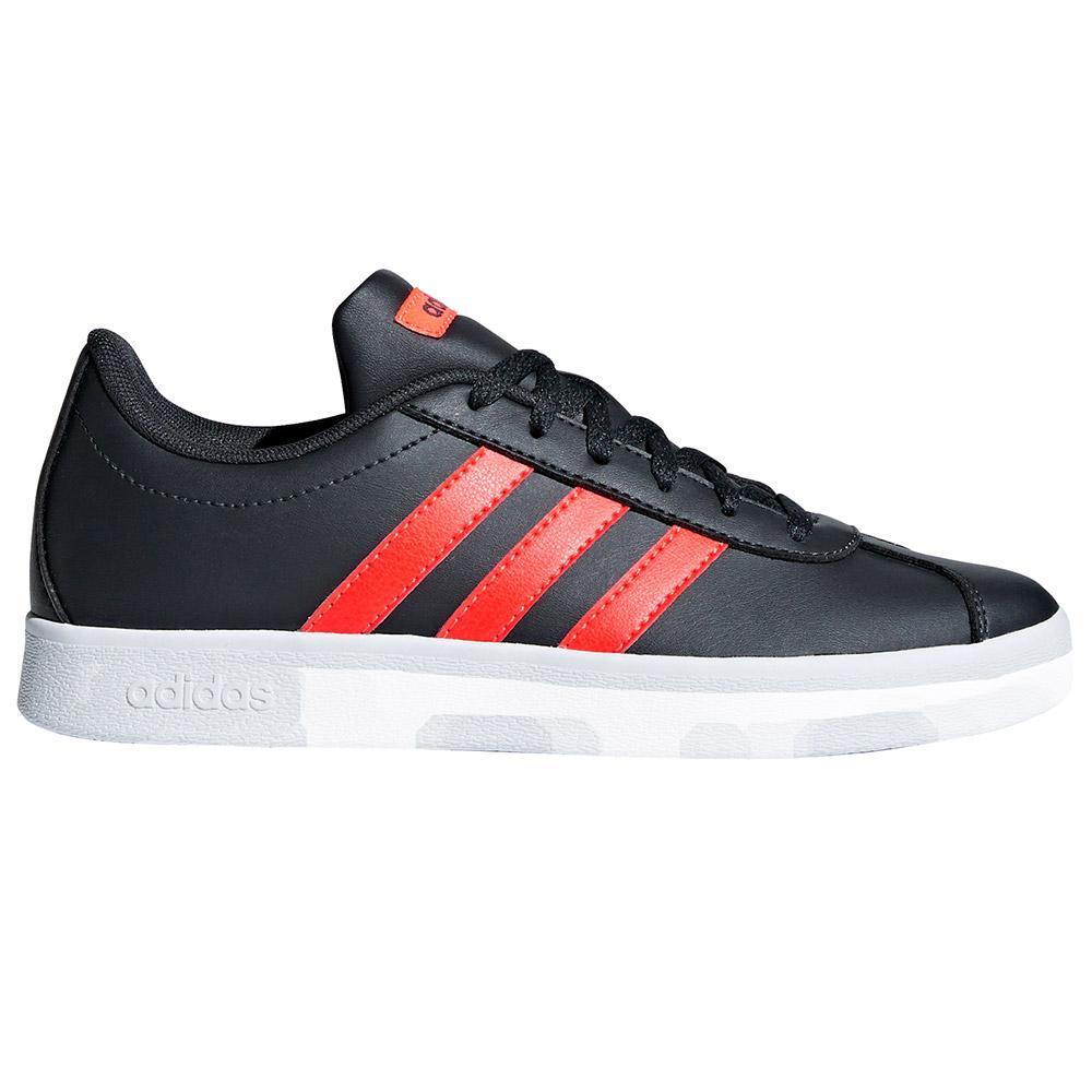 adidas VL Court 2.0 K Black buy and offers on Smashinn