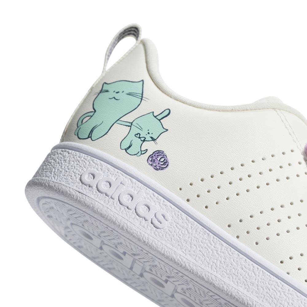 adidas VS Advantage CL CMF Infant Hvit kjøp og tilbud