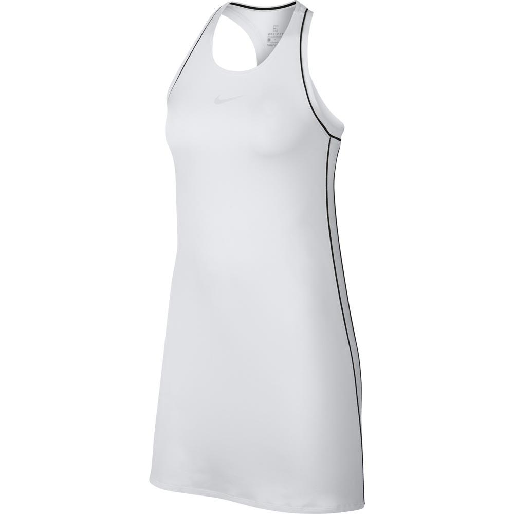 Robes Nike Court Dry XS White / Black / Black / Black