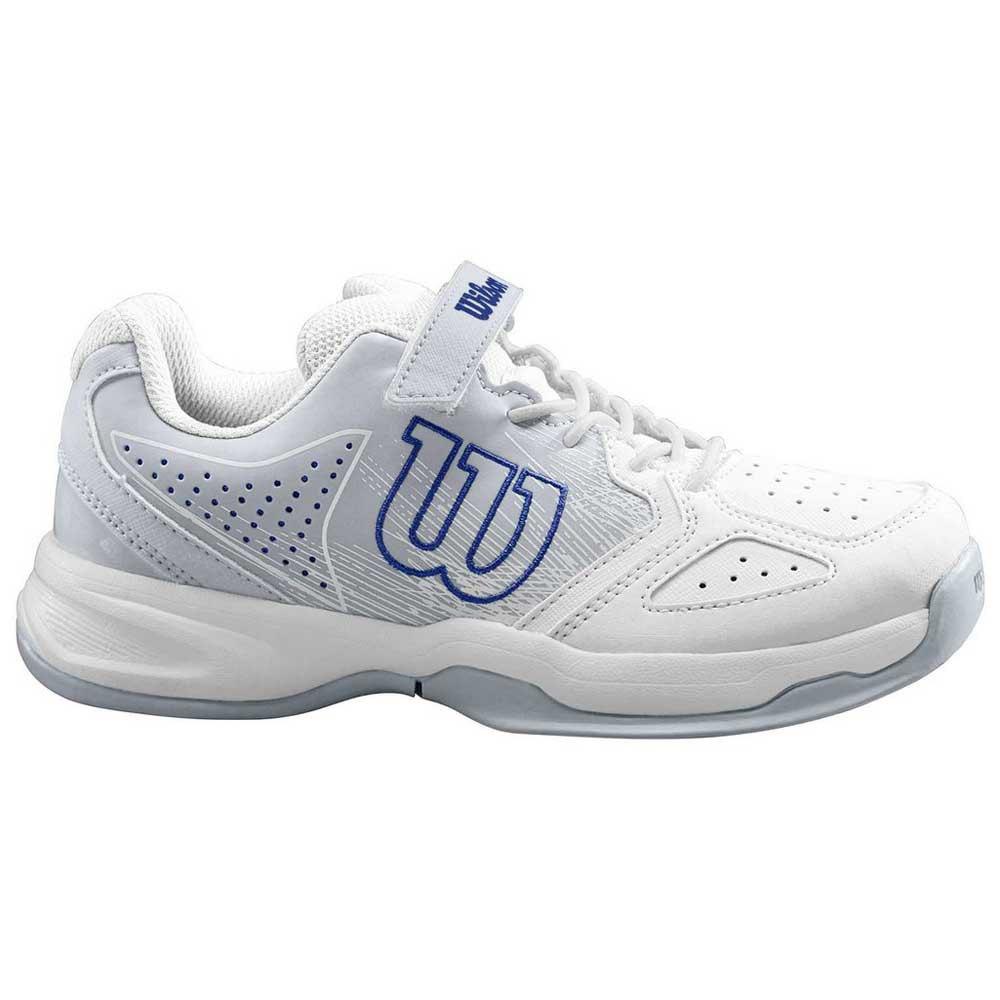Baskets Wilson Kaos EU 33 White / Pearl Blue / Dazzling Blue