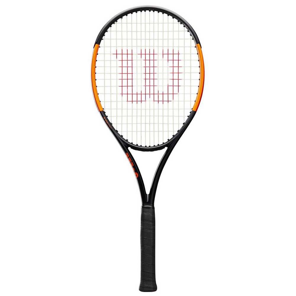 Raquettes de tennis Wilson Burn 100ls 2 Black / Orange
