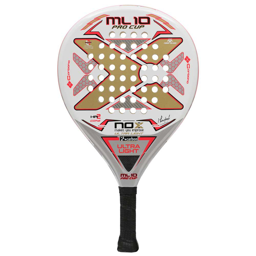 Nox Ml10 Pro Cup Ultralight One Size White / Gold / Pink