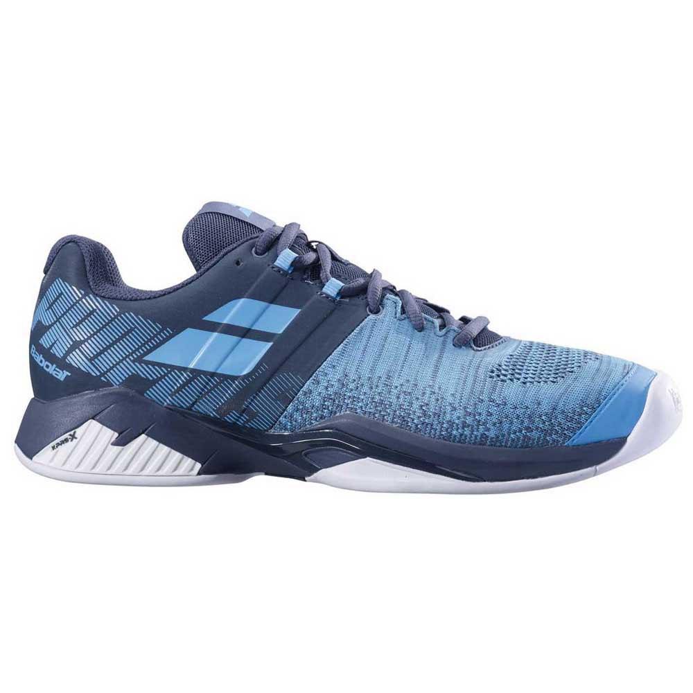 Baskets tenis Babolat Propulse Blast Indoor EU 42 1/2 Grey / Blue