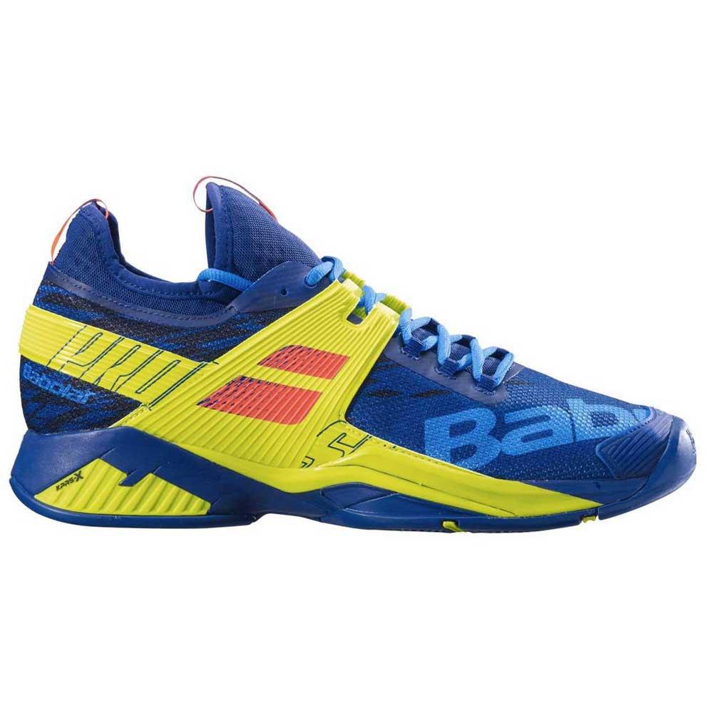 Baskets tenis Babolat Propulse Rage All Court EU 48 Blue / Fluo Aero