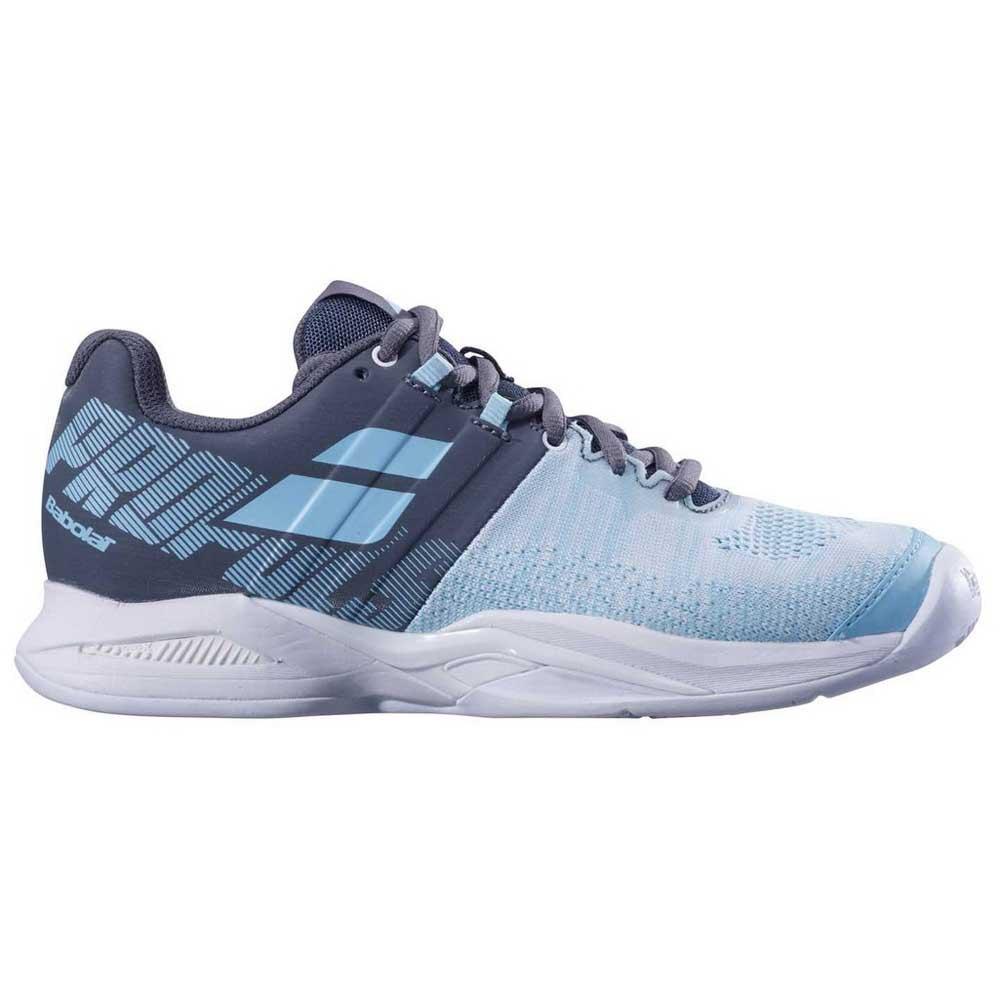 Baskets tenis Babolat Propulse Blast Clay EU 37 Grey / Blue Radiance