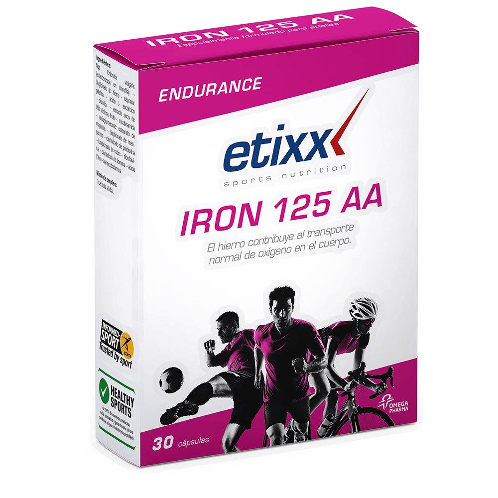 Compléments alimentaires pour sportifs Etixx Iron 125 Aa 30 Caps