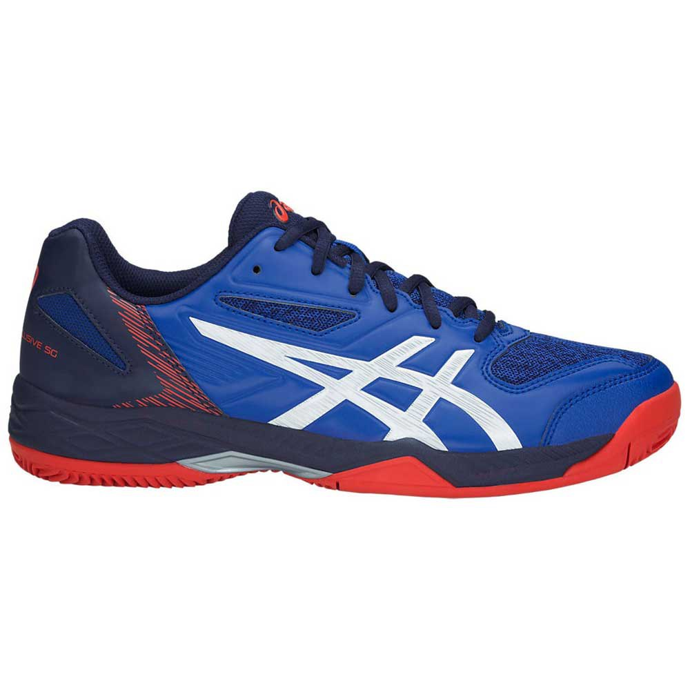 Asics Gel Padel Exclusive 5 SG Clay Shoes Blue, Smashinn