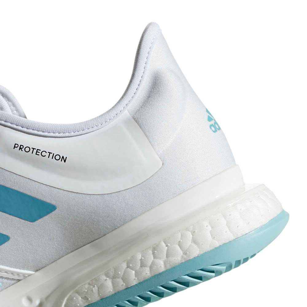 c4002bbd1db adidas Solecourt Boost X Parley White buy and offers on Smashinn