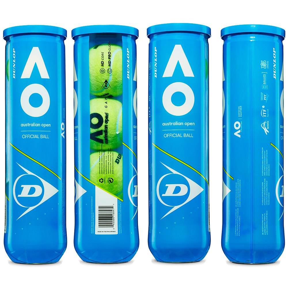 Balles tennis Dunlop Australian Open Box