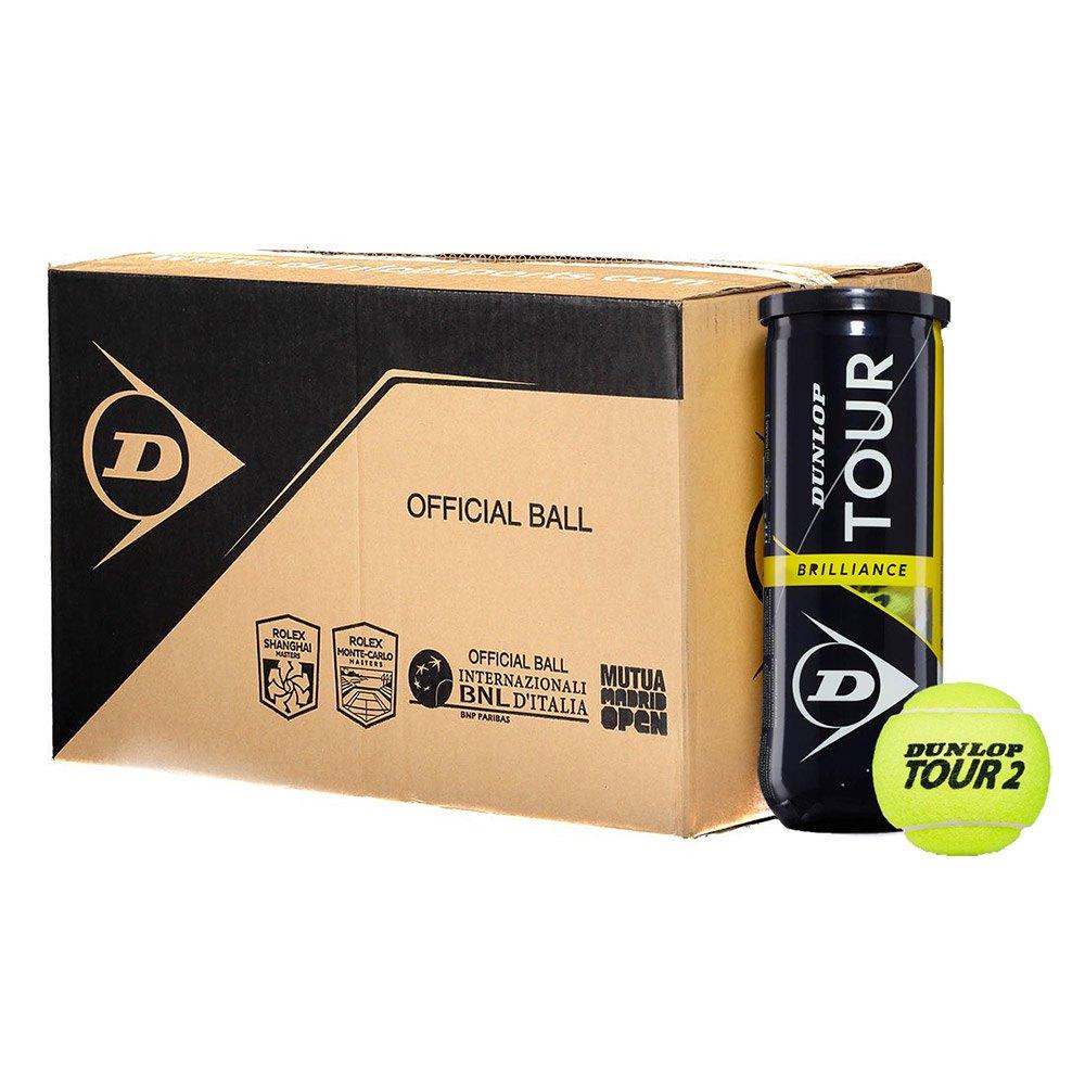 Balles tennis Dunlop Tour Brilliance Box