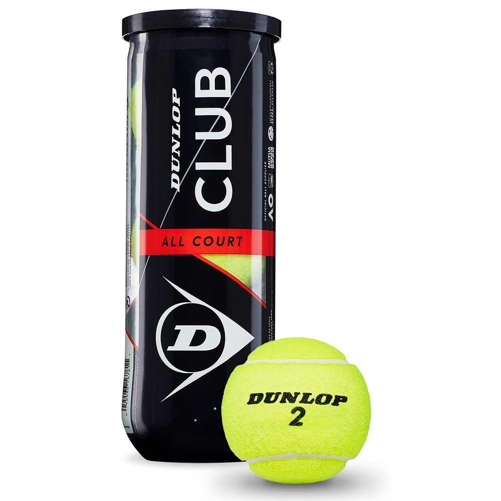 Balles tennis Dunlop Club All Court