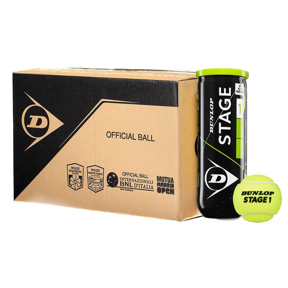 Balles tennis Dunlop Stage 1 Box