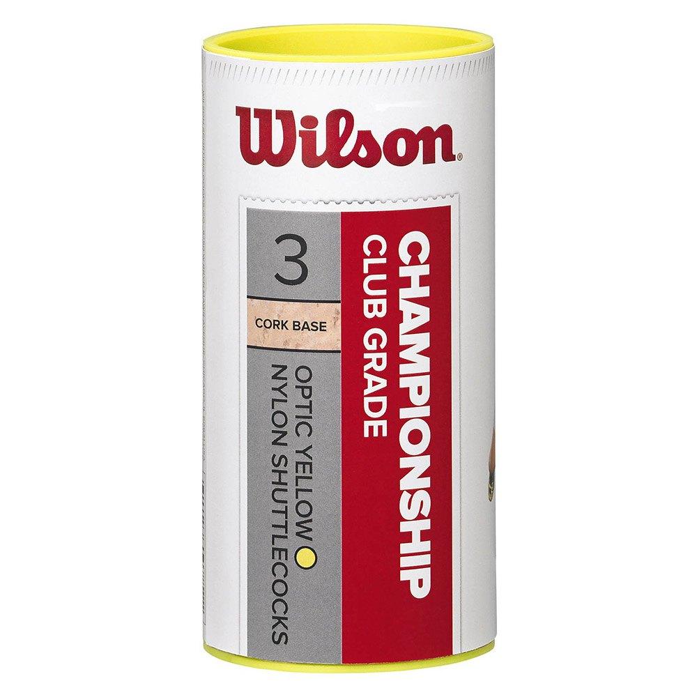 Volants Wilson Championship Club 77 3 Units Yellow