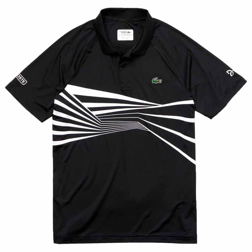 80e9e133b Lacoste DH3387 Novak Djokovic Black buy and offers on Smashinn