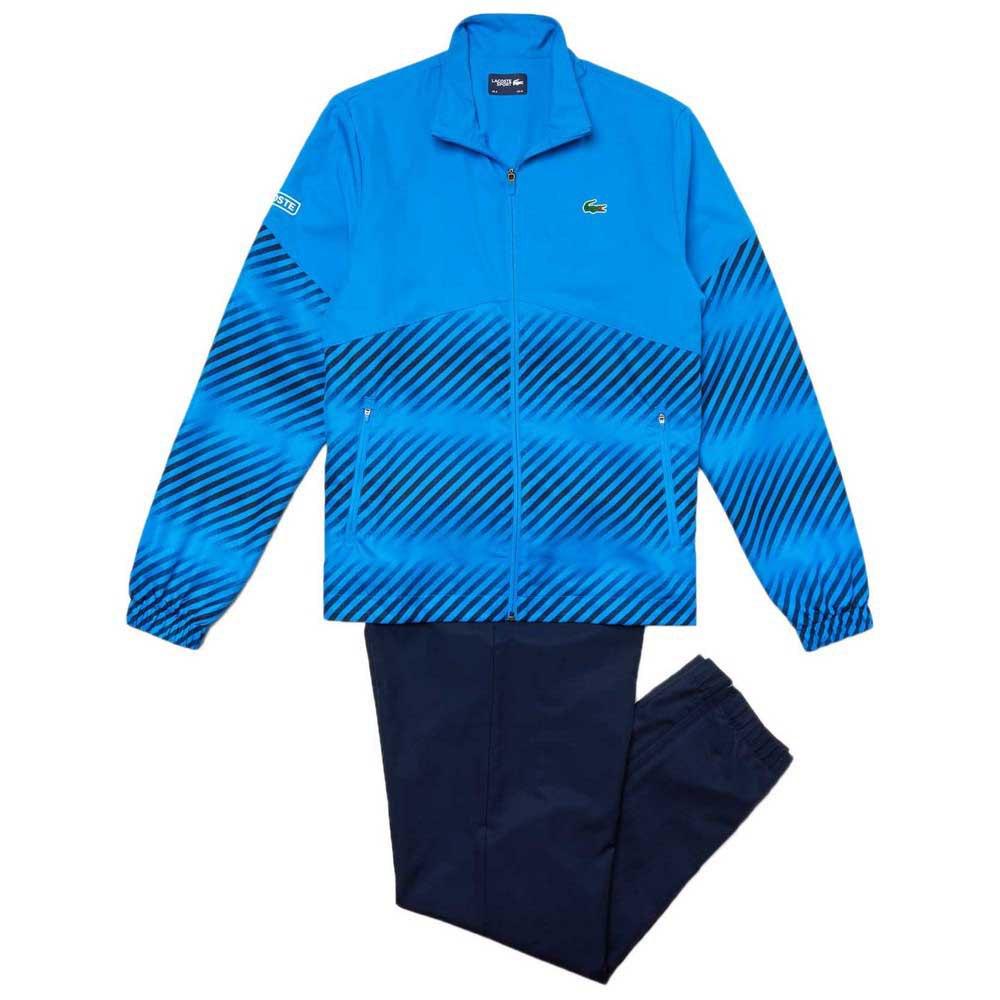 Survêtements Lacoste Sport Tennis Stripes Blur