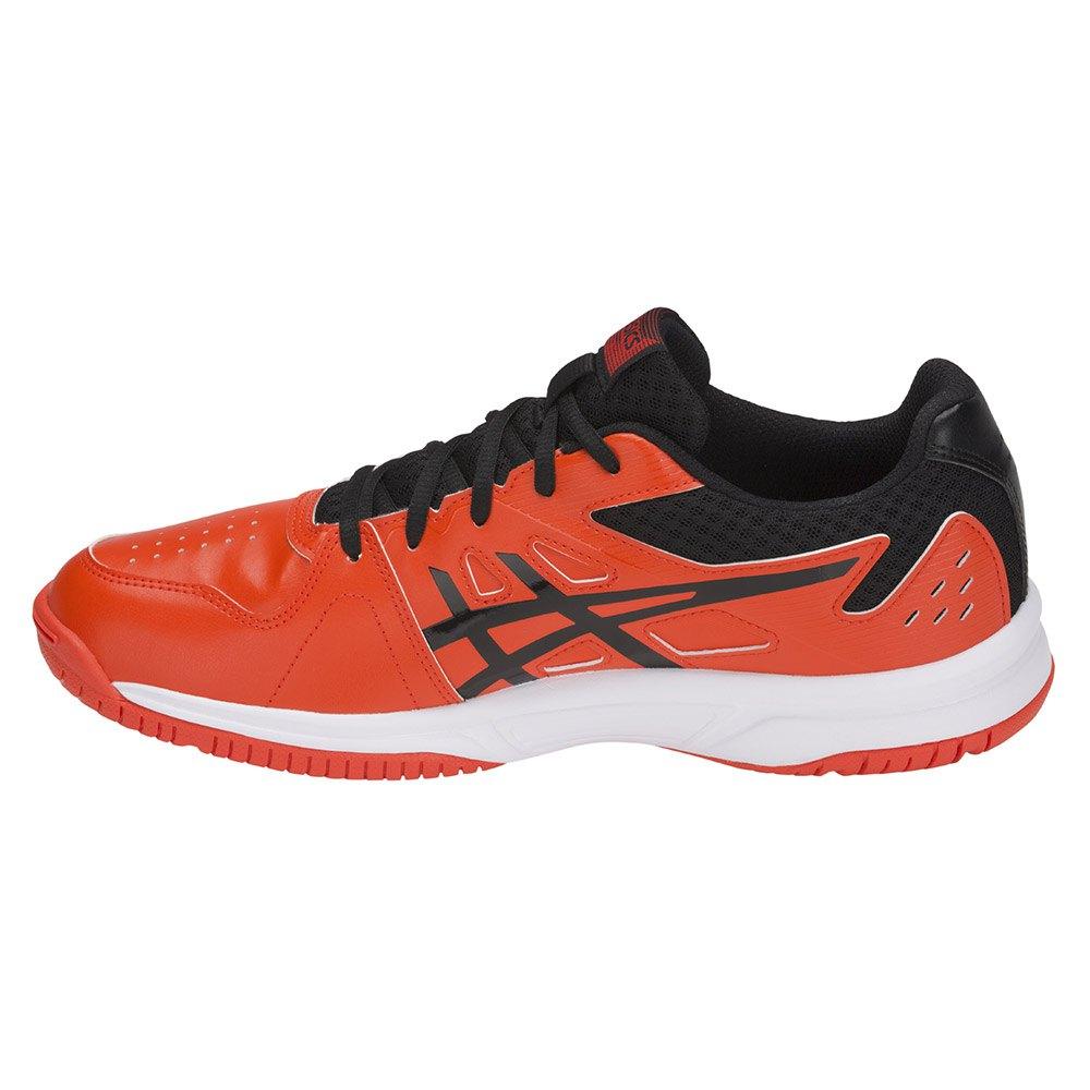 zapatillas asics court slide clay naranja
