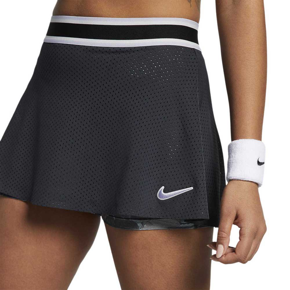 Nike Court Essential Printed Black buy and offers on Smashinn