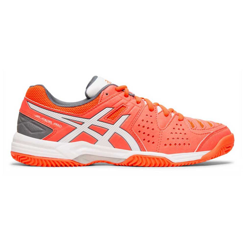 Asics Gel Padel Pro 3 SG Shoes Orange buy and offers on Smashinn