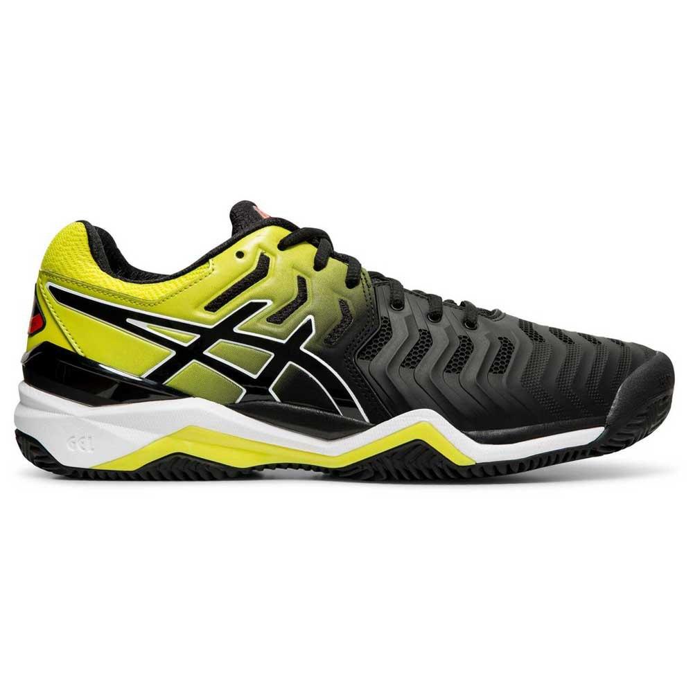Asics Gel Resolution 7 Clay Shoes Black, Smashinn