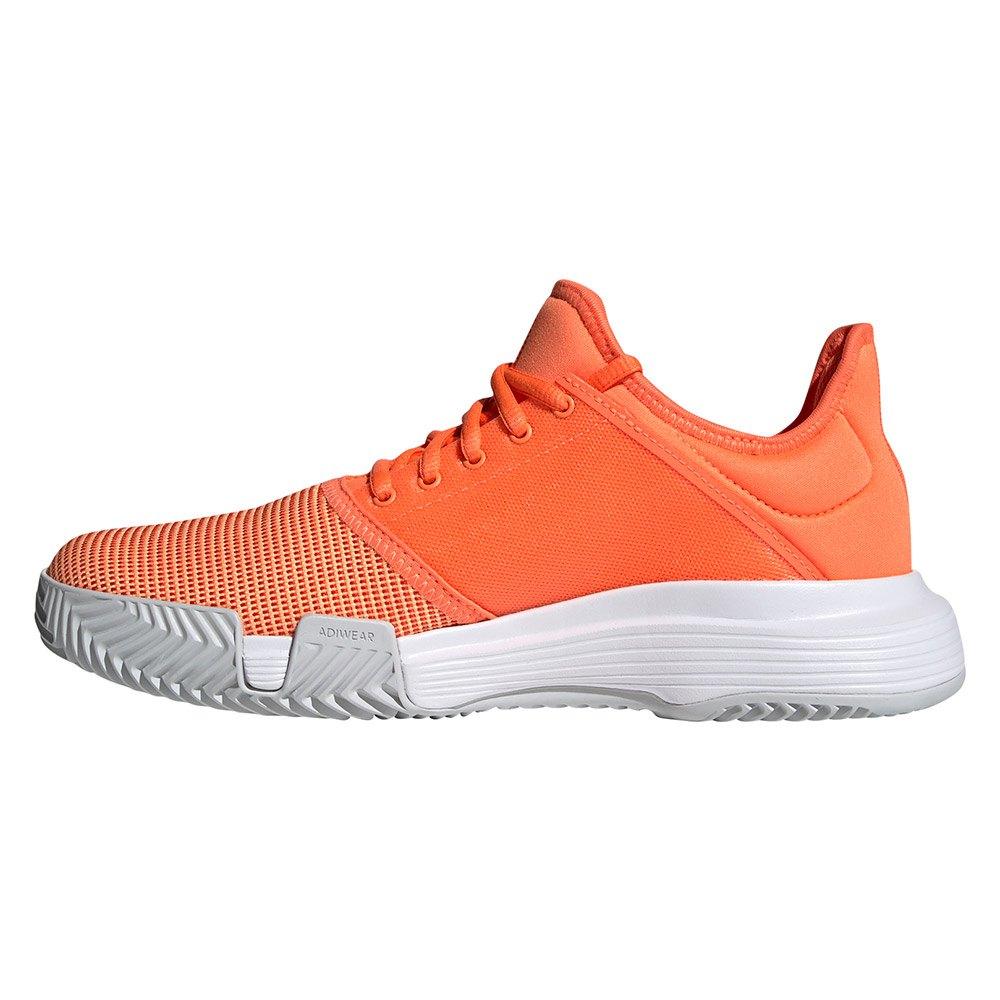 adidas court naranja