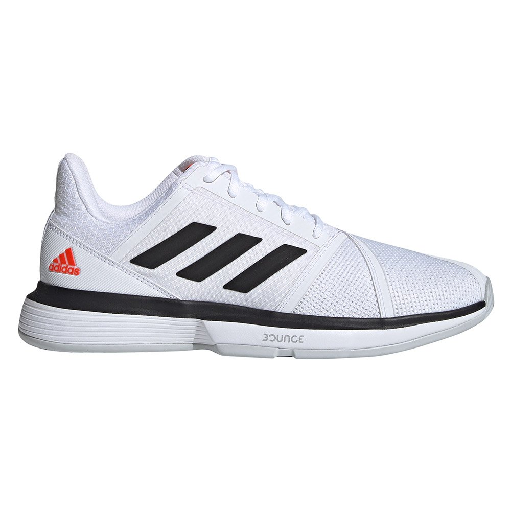 adidas Court Jam Bounce Wit kopen en aanbiedingen, Smashinn ...