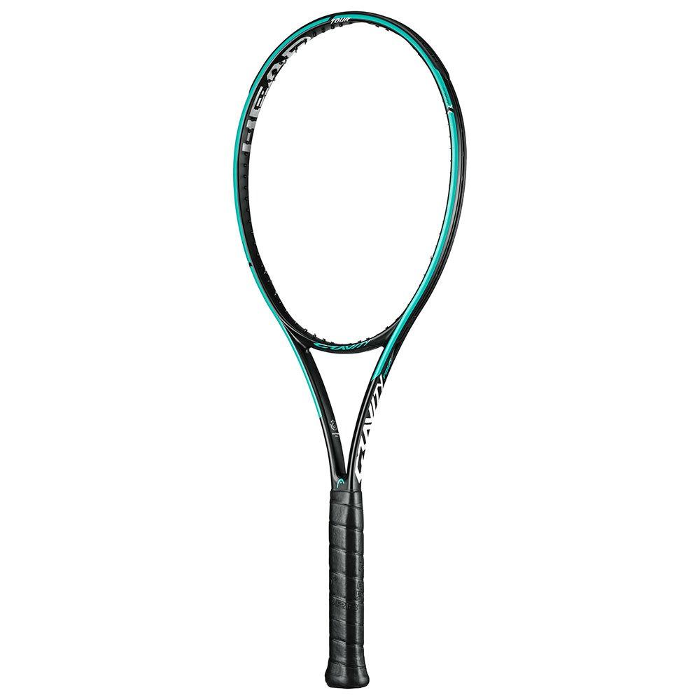Head-racket Graphene 360+ Gravity Tour Sans Cordage 3 Black / Turquoise / Red