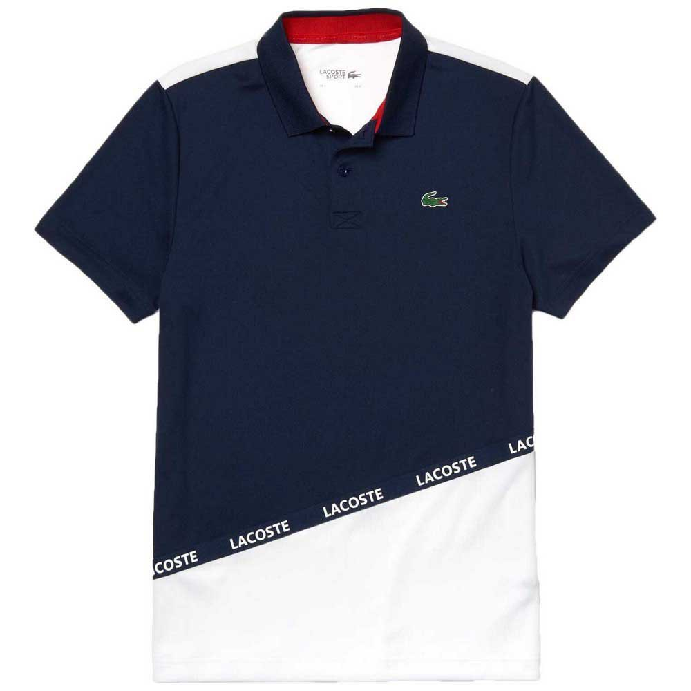 Polos Lacoste Sport Signature Band Breathable Colorblock