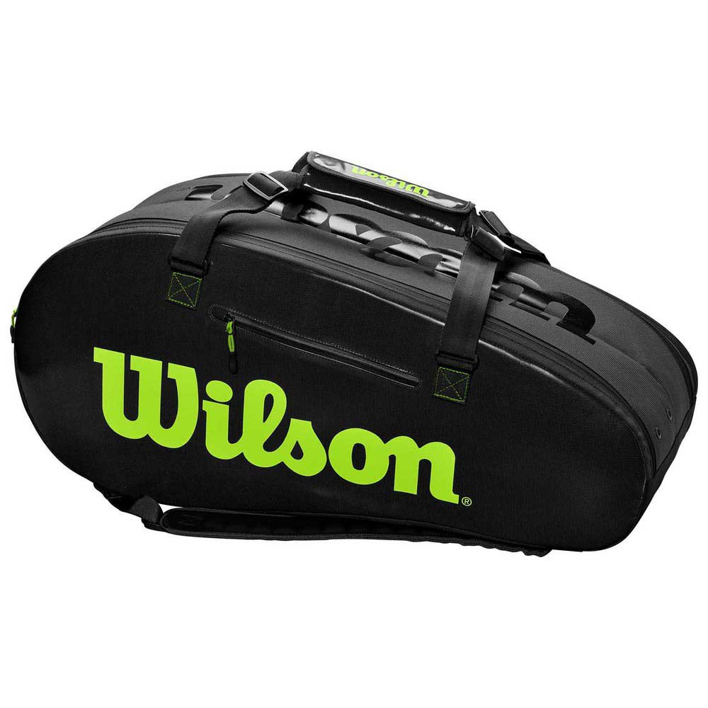 Wilson Super Tour 2 Competition Large One Size Charcoal / Green